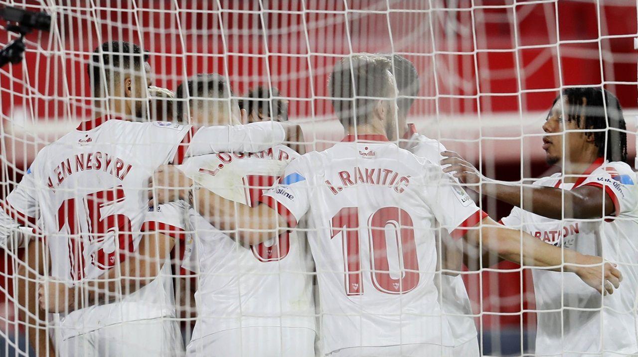 Todas las imágenes del Sevilla-Celta