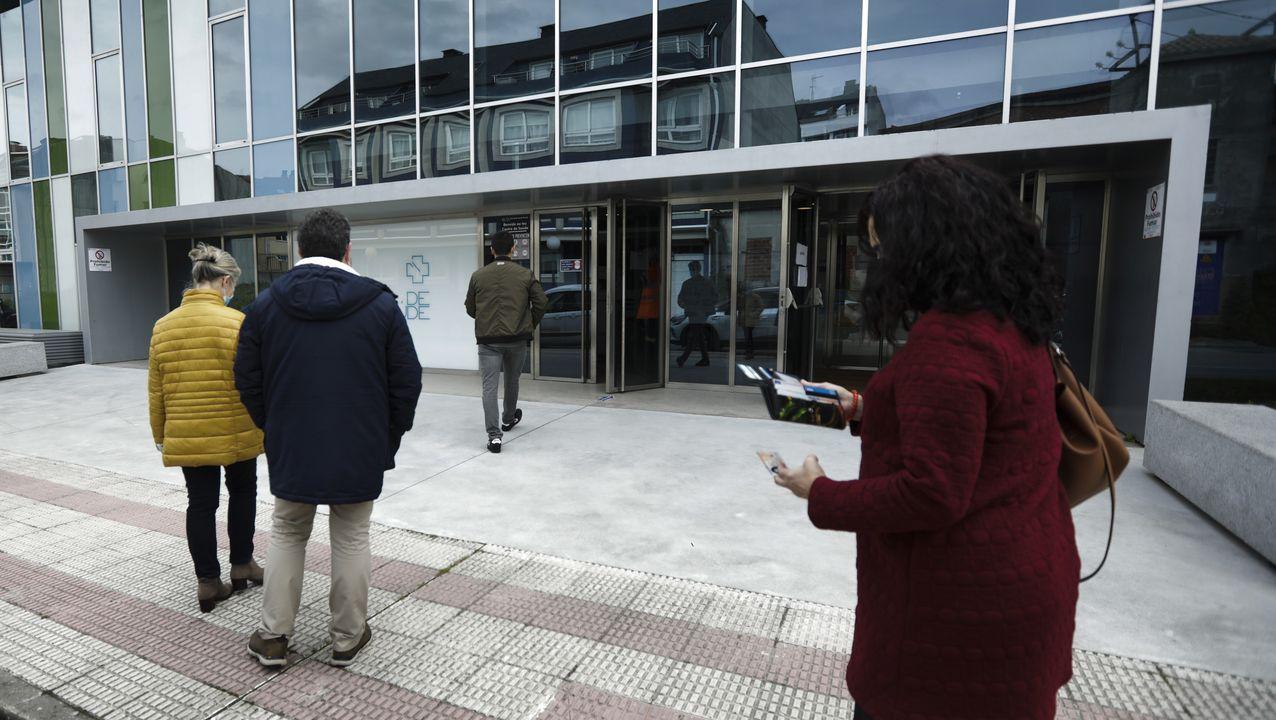 Cribado para vecinos de Oseiro y Rañal en el centro de salud de Vilarrodís, en Arteixo