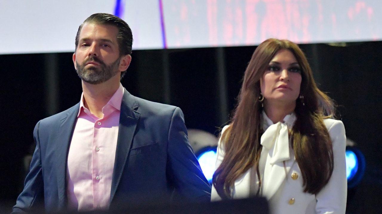 El confinamiento de Lérida, en imágenes.Donald Trump Jr y su novia, la periodista Kimberly Guilfoyle, en una imagen del 2019