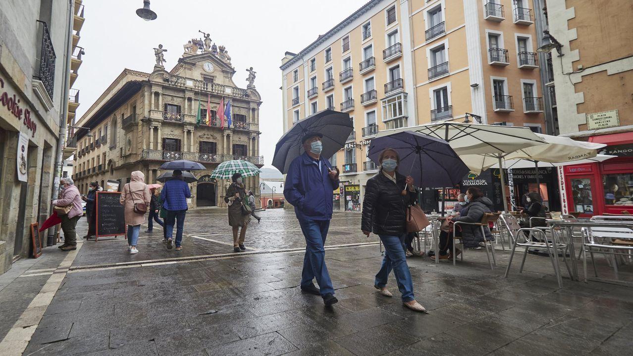 Navarra pretende mantener el toque de queda a las 23 horas