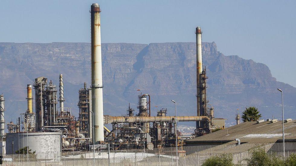 Una refinería de Chevron en Sudáfrica