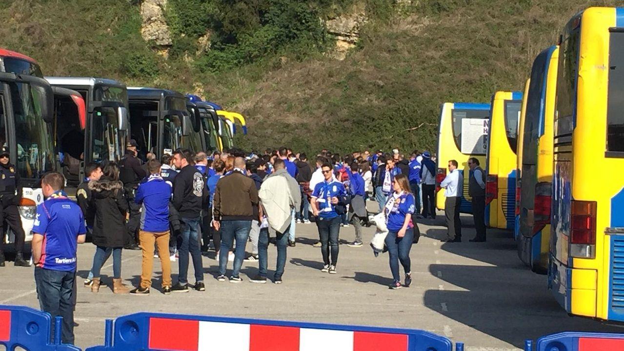 Aficion Real Oviedo derbi