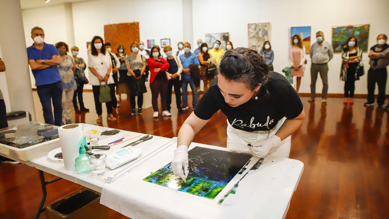 Clausura de «Barbantiarte» en el Museo do Gravado