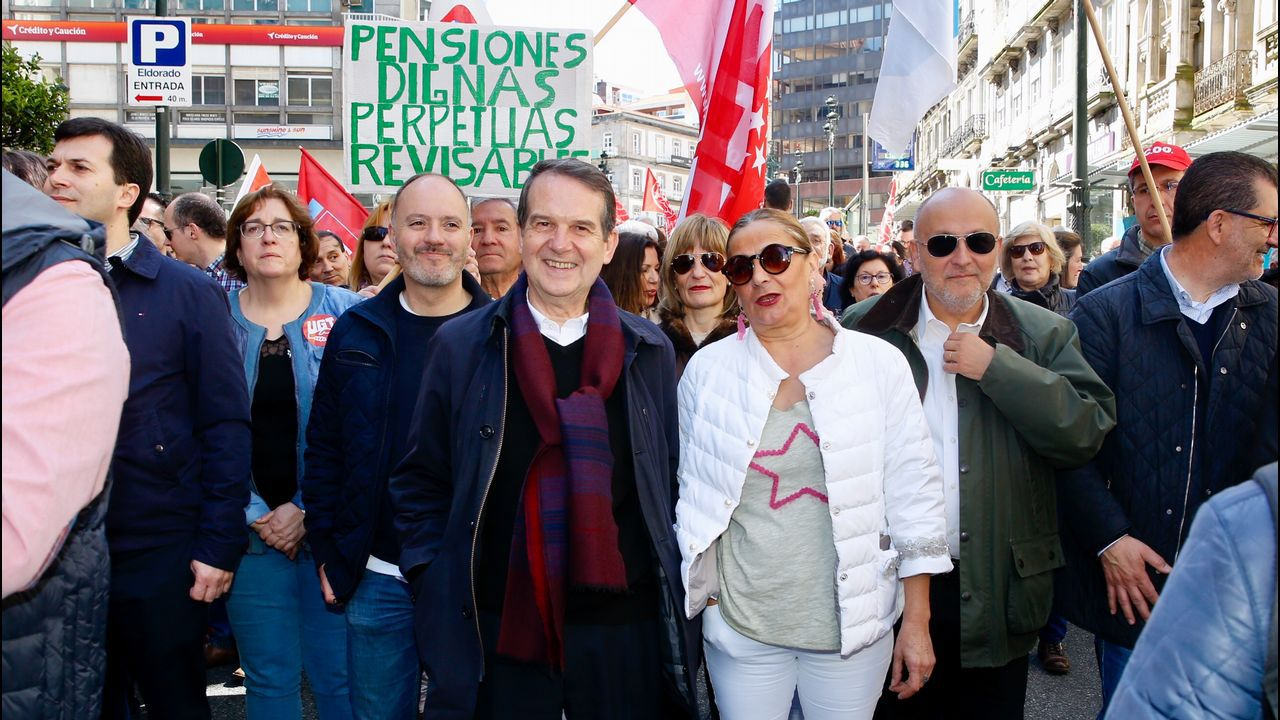 Dia del Trabajo. Manifestación por el 1 de Mayo en Vigo