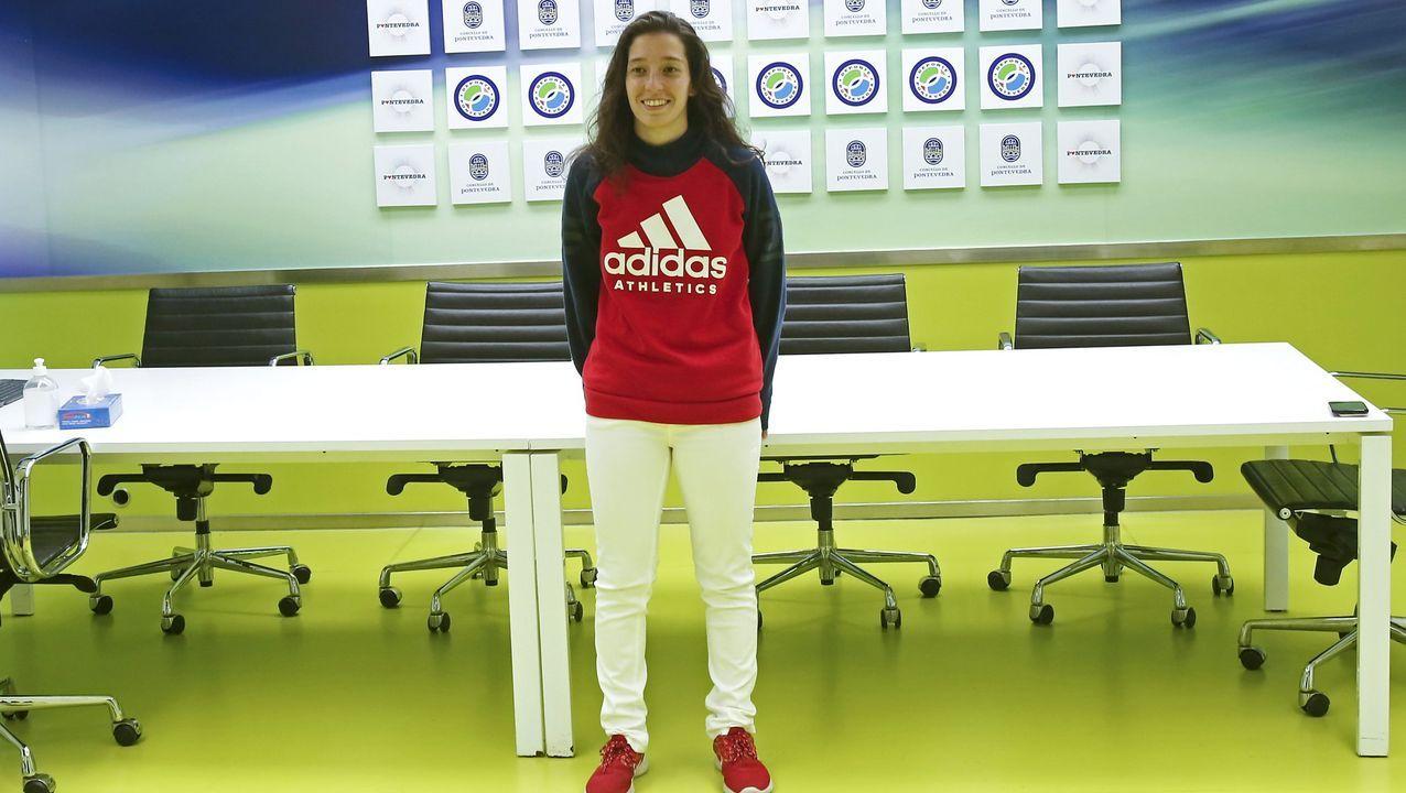 Premios Cidade de Pontevedra a Paula Dapena y los sanitarios.La futbolista Paula Dapena, nominada a los premios Cidade de Pontevedra