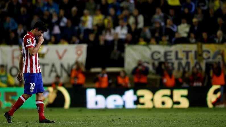 Diego Costa, sustituido en Villarreal