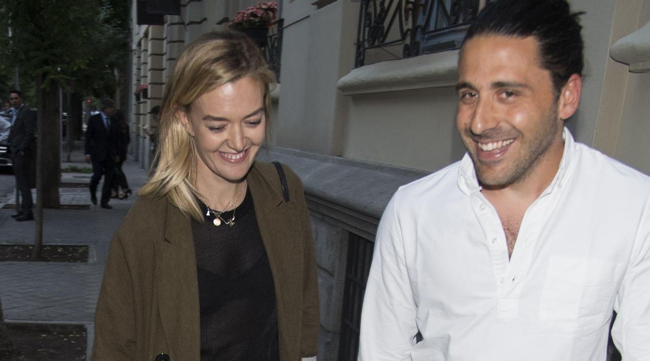 Ortega y Torretta se toman un descanso de los preparativos de su boda