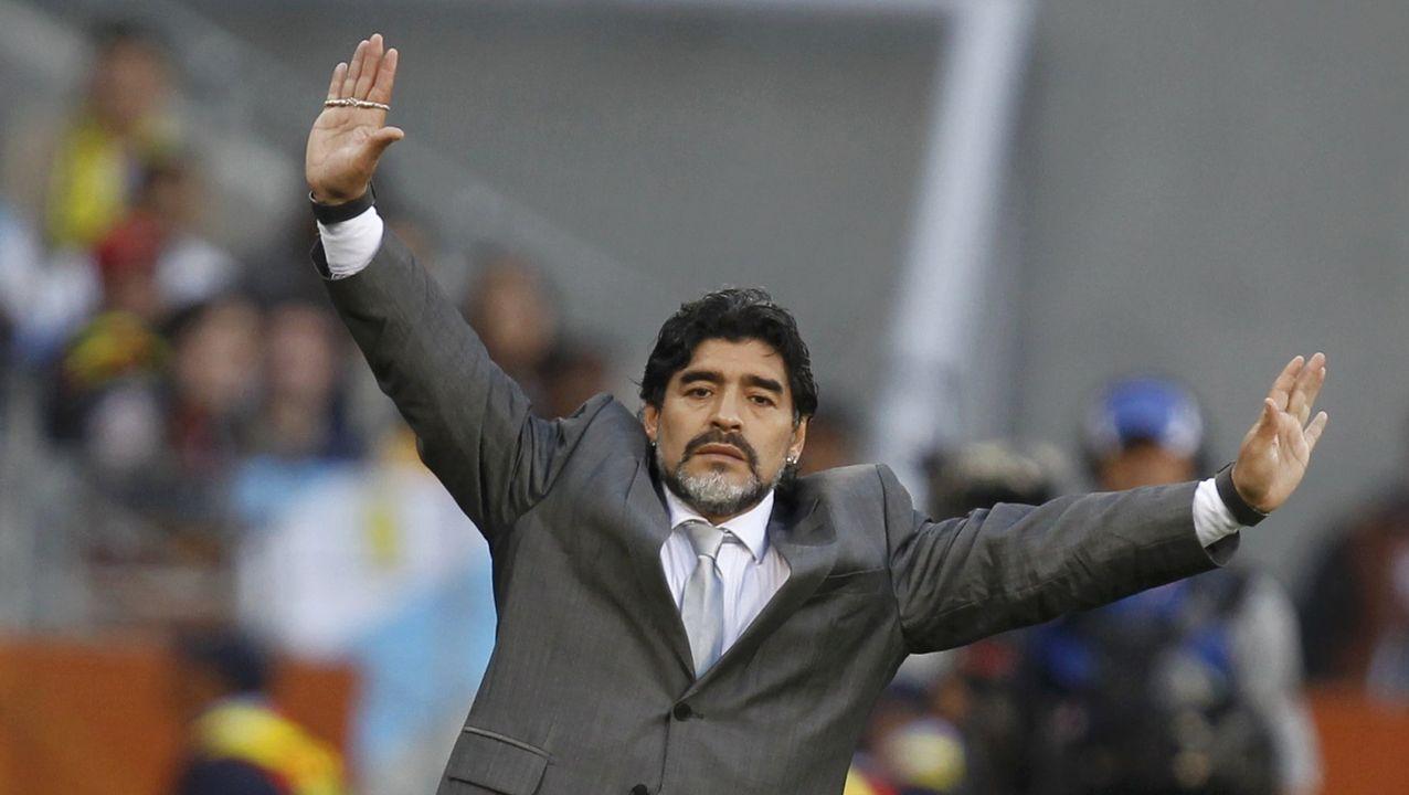 Como seleccionador argentino, en el 2010