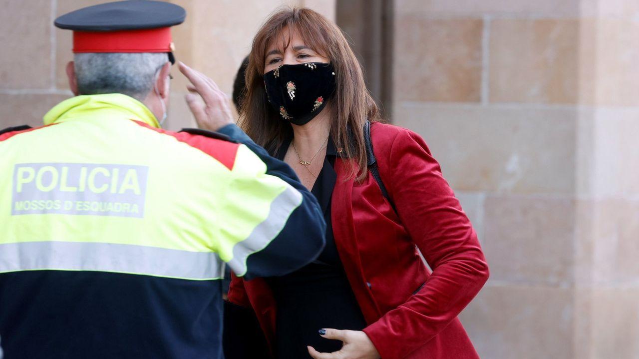 La presidenta de la Cámara catalana, Laura Borràs, en una imagen de archivo