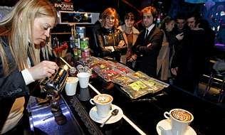 En la elaboración de los cafés se cuidaron todos los detalles.