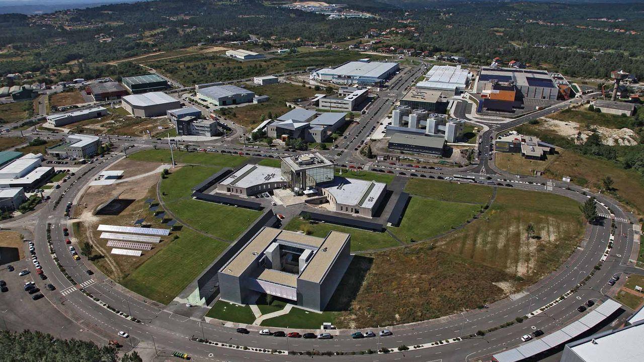 La farmacéutica Sanofi con sede en Francia.Parque Tecnolóxico de Galicia, en Ourense