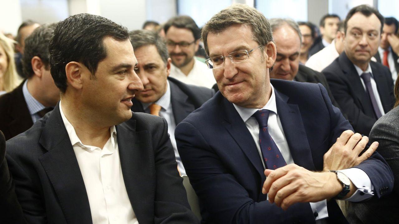 Los presidentes de Andalucía y Galicia son los más críticos con el bloqueo de Hacienda