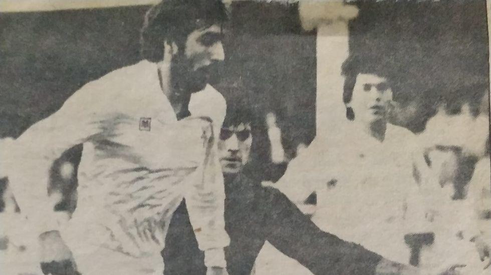 La trayectoria de Roberto González enimágenes.A la izquierda, Fran Sol. A la derecha, Joselu