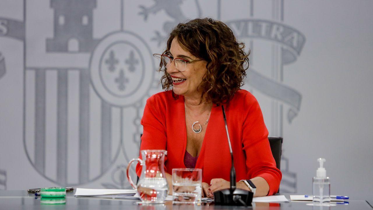 En directo |El Tribunal Supremo revisa la inhabilitación de Quim Torra.La ministra de Hacienda y portavoz del Gobierno, María Jesús Montero, este martes, tras el Consejo de Ministros