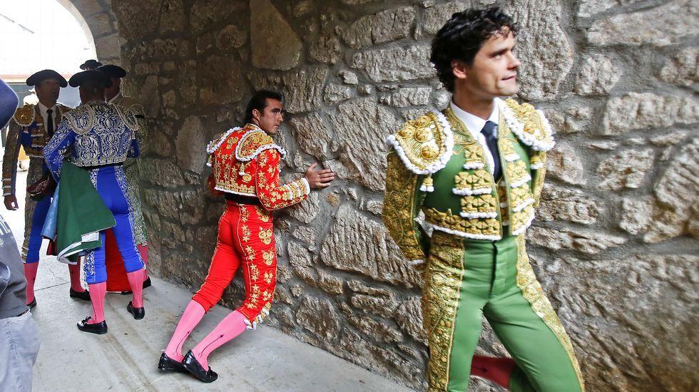 Triunfal corrida.Francisco Rivera Ordóñez en O Cebreiro