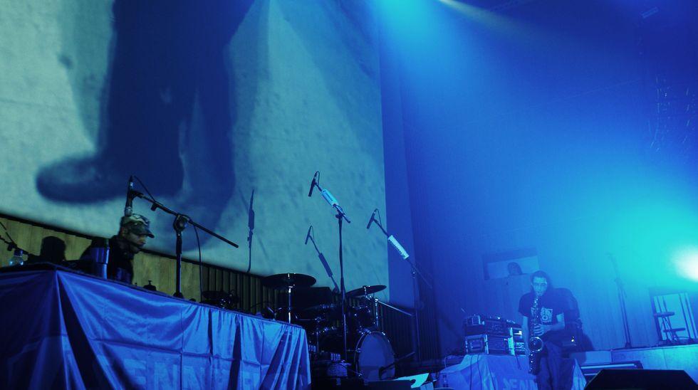 Os concertos de Telémaco, que naceu hai dúas décadas, teñen sempre unha gran dose de improvisación