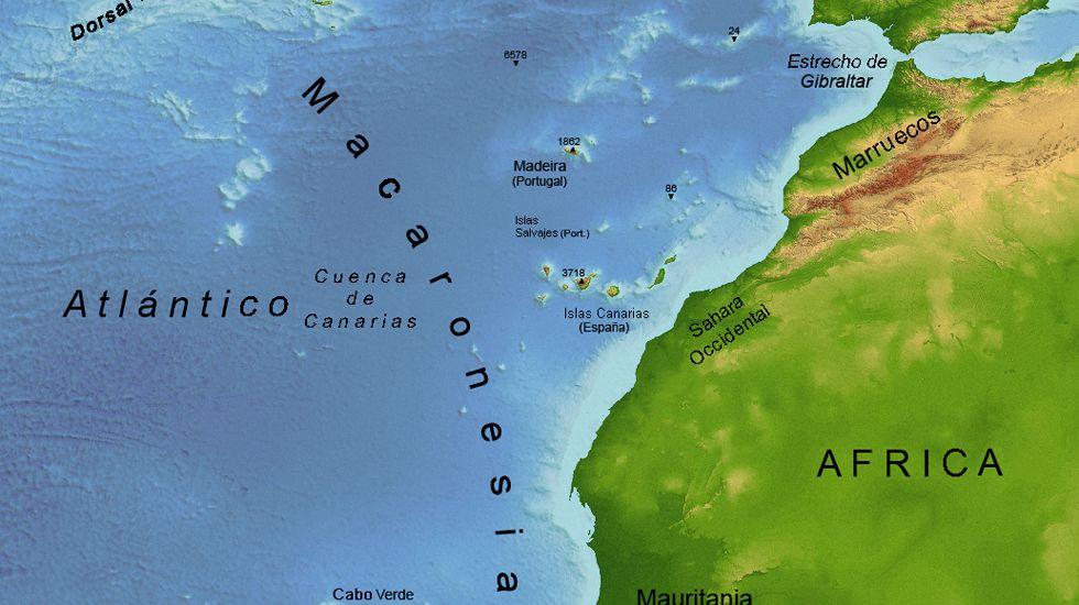 Macaronesia, los cinco archipiélagos del Atlántico Norte.Macaronesia, los cinco archipiélagos del Atlántico Norte