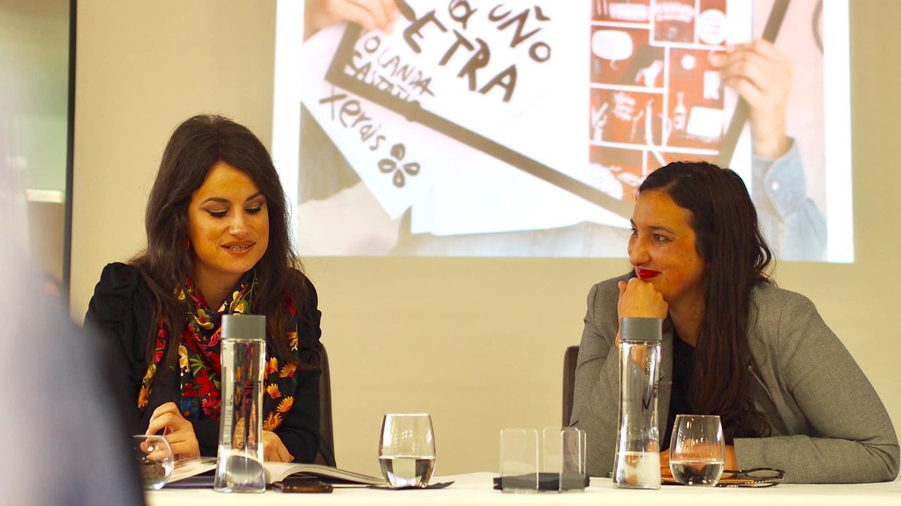 ana.Manel Cráneo (arriba á dereita) leva ao cómic «A nosa cinza», de Xavier Alcalá