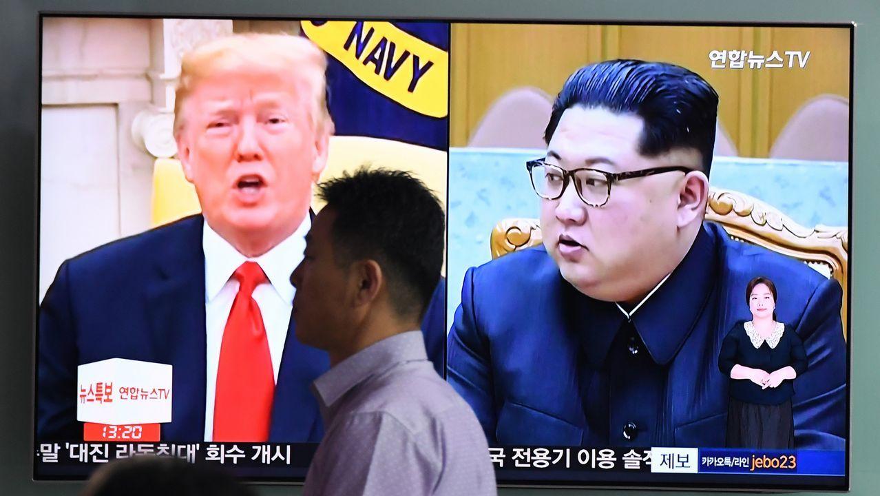 Cumpbre entre Donald Trump y Kim Jong-un