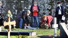 Homenaje en Vigo a los fallecidos por coronavirus