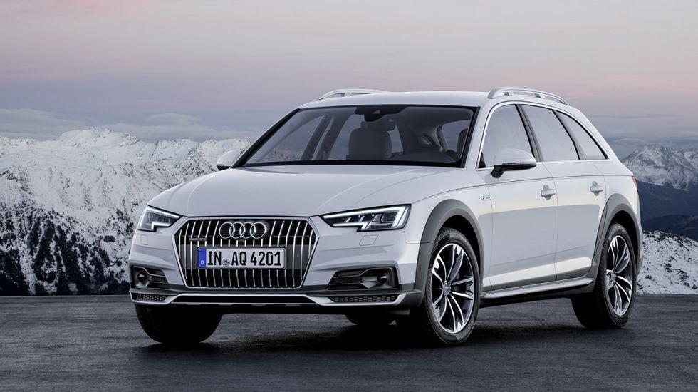 Audi A4 Allroad. El nuevo A4 desarrolla su gama y en Detroit pudimos conocer su versión Allroad, con la carrocería típica familiar sobreelevada, su tracción Quattro y sus protectores de pases de rueda que le dan un aspecto más campero.