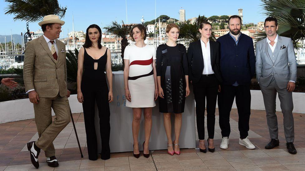El elenco de la película de la película de Yorgos Lanthimos