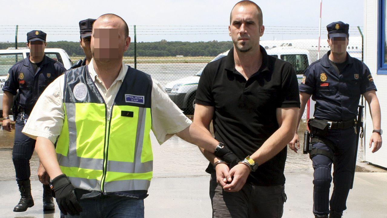 La selección española de baloncesto ya está en España.El exjefe de la organización terrorista ETA Garikoitz Aspiazu «Txeroki», en una imagen de archivo