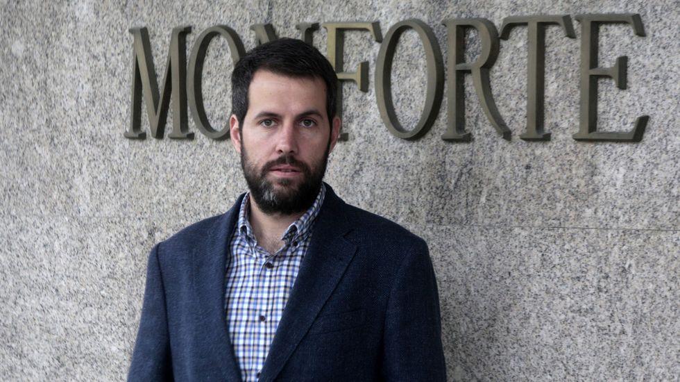 Iván Sanz dejó su puesto al frente del hospital de Monforte el pasado 15 de diciembre
