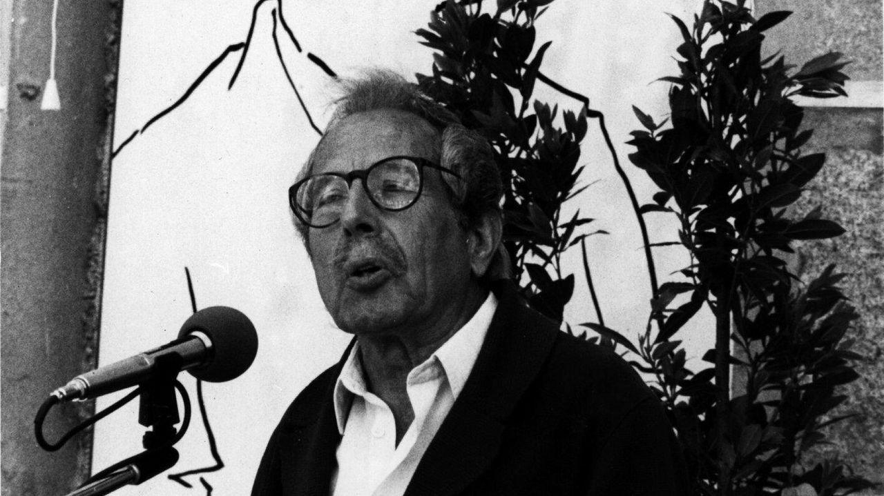 Detalle del retrato de Darío Villanueva cuando terminó su etapa como rector