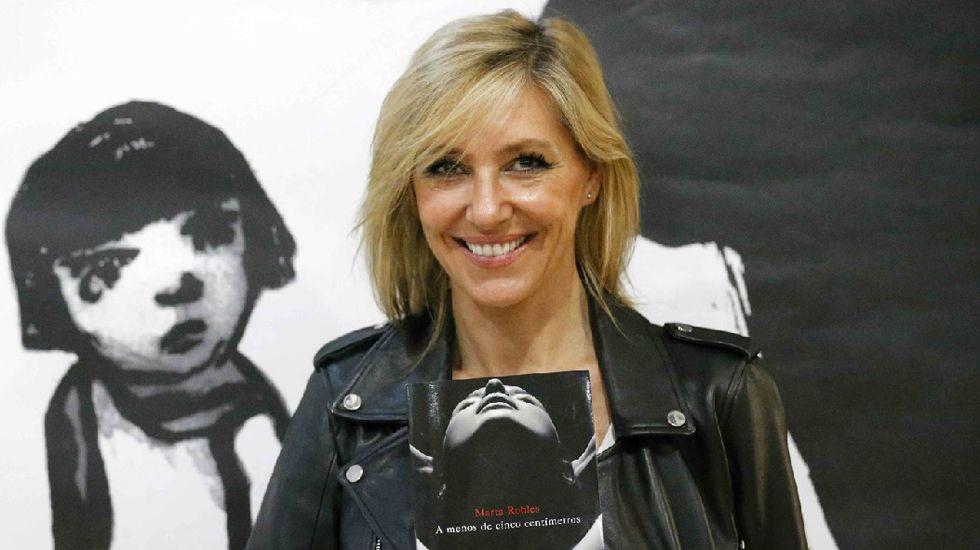 Marta Robles.La escritora argentina Tatiana Goransky