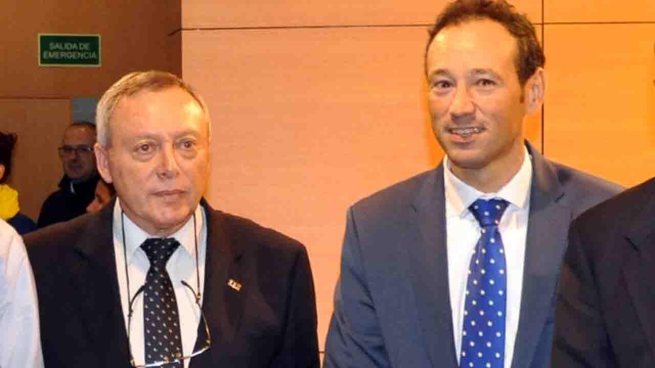 gerente del Servicio de Emergencias del Principado (Sepa) y el consejero de Presidencia del Principado.Eugenio García y Guillermo Martínez