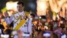 El rey de Tailandia, Maha Vajiralongkorn, el pasado 5 de diciembre, en el palacio real de Bangkok