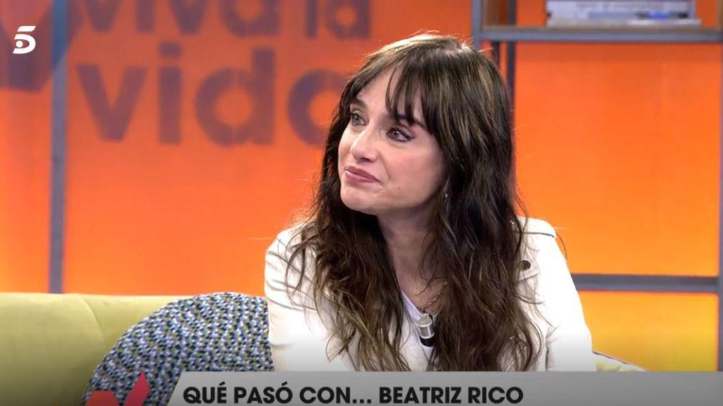 Beatriz Rico en el programa «Viva la vida»