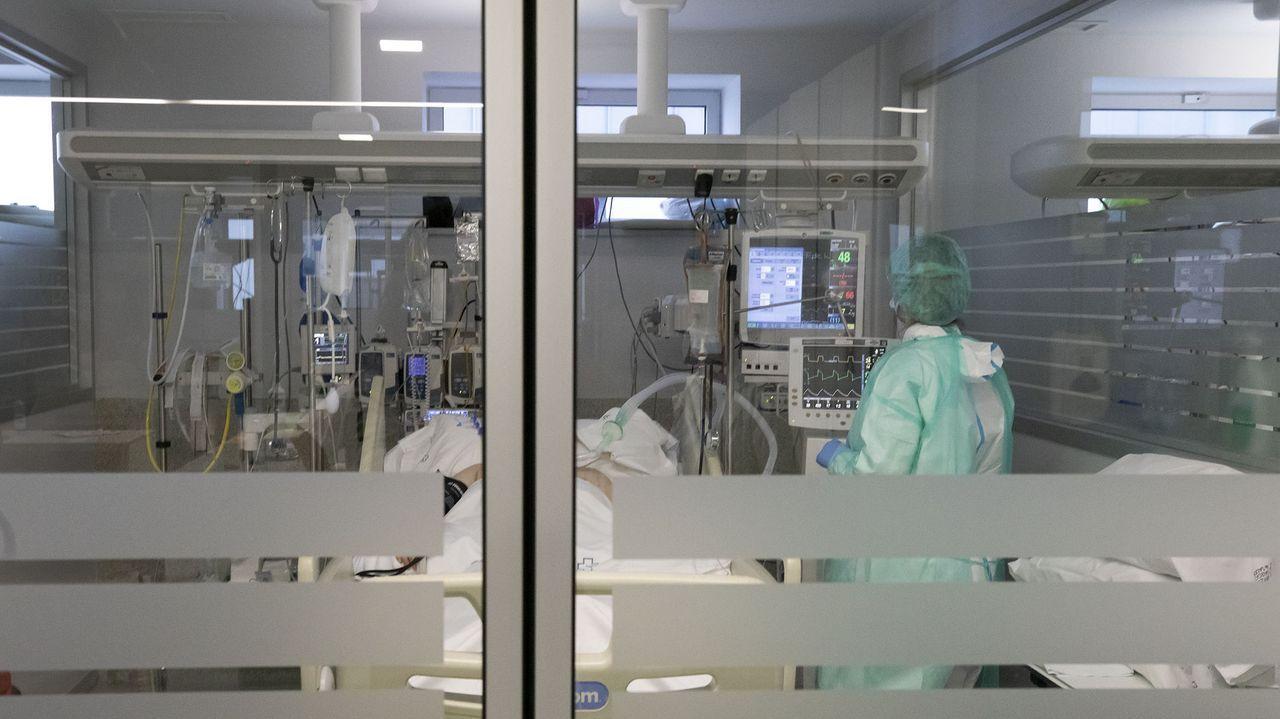 Uci covid del hospital Lucus Augusti de Lugo