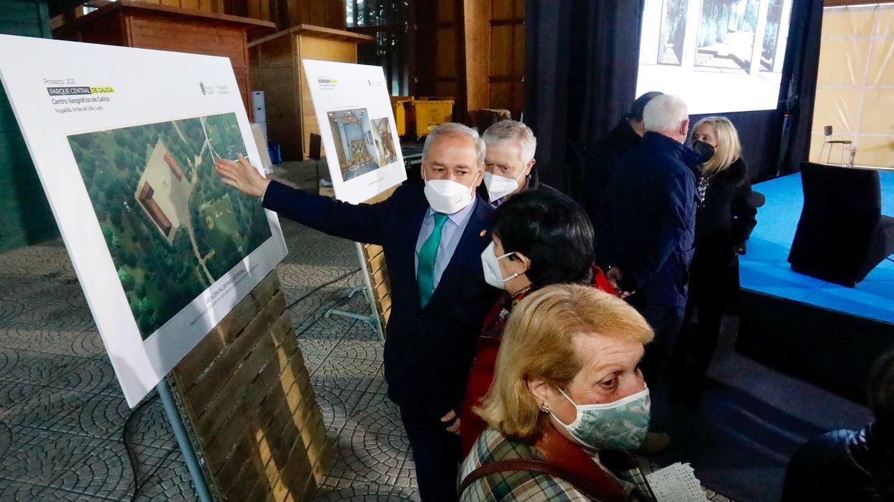 Presentación en Antas de Ulla del proyecto del Parque Central de Galicia