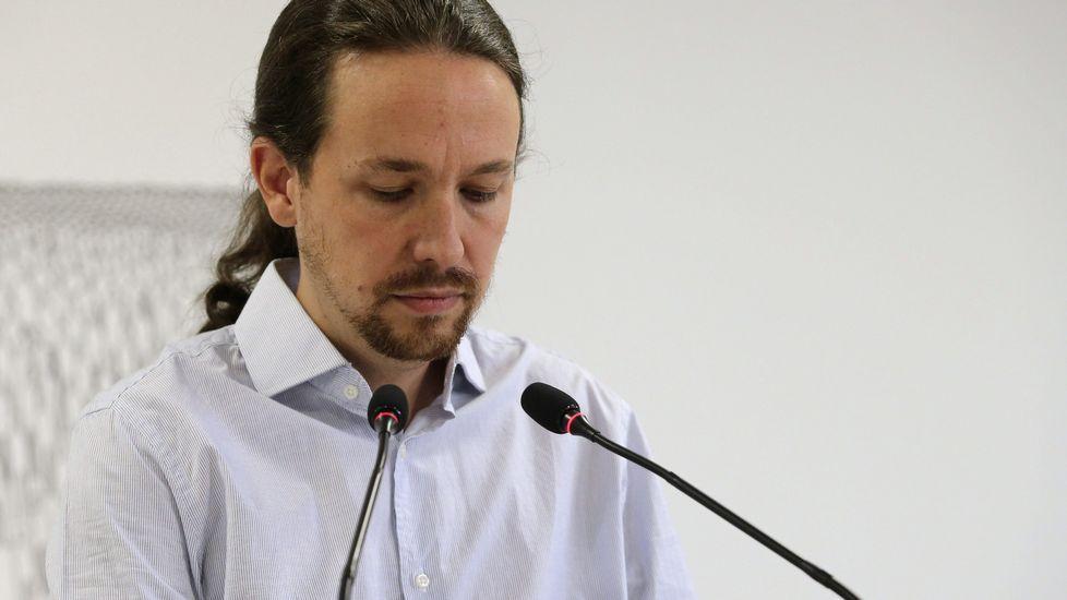Rajoy: «Estoy dispuesto a escuchar, a hablar...».Ballesteros | EFE