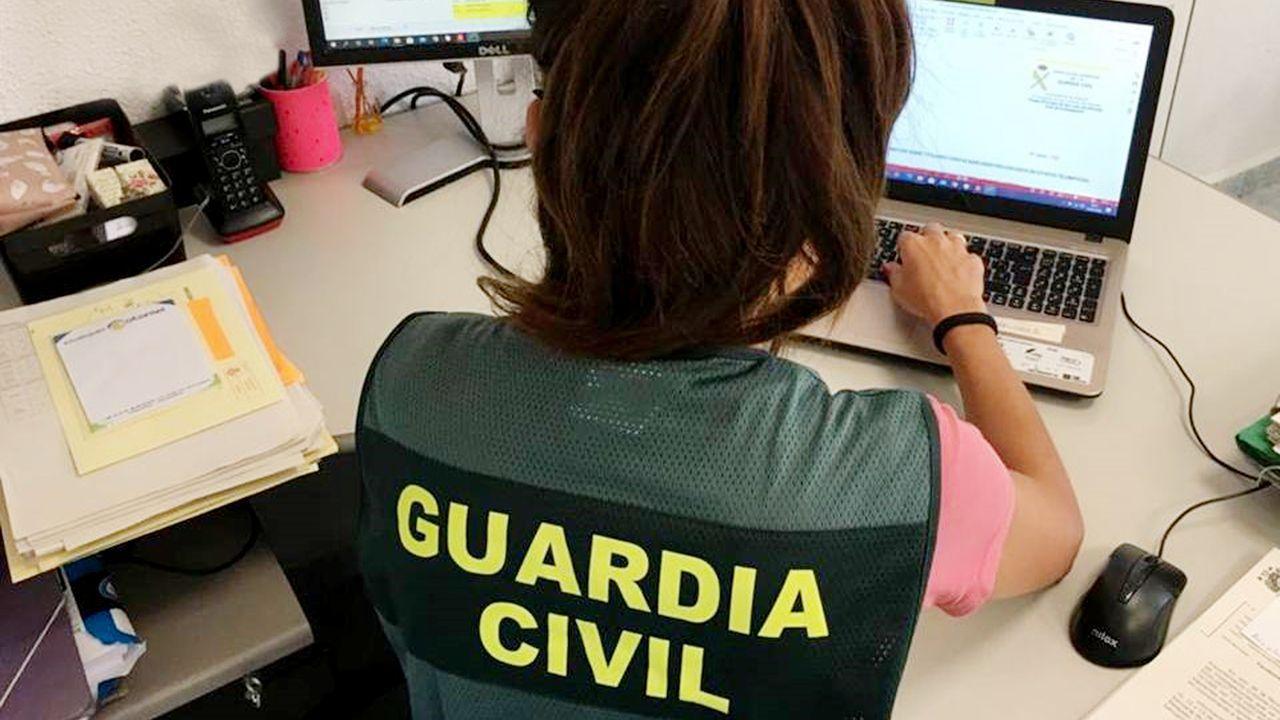 Foto de archivo de la Guardia Civil