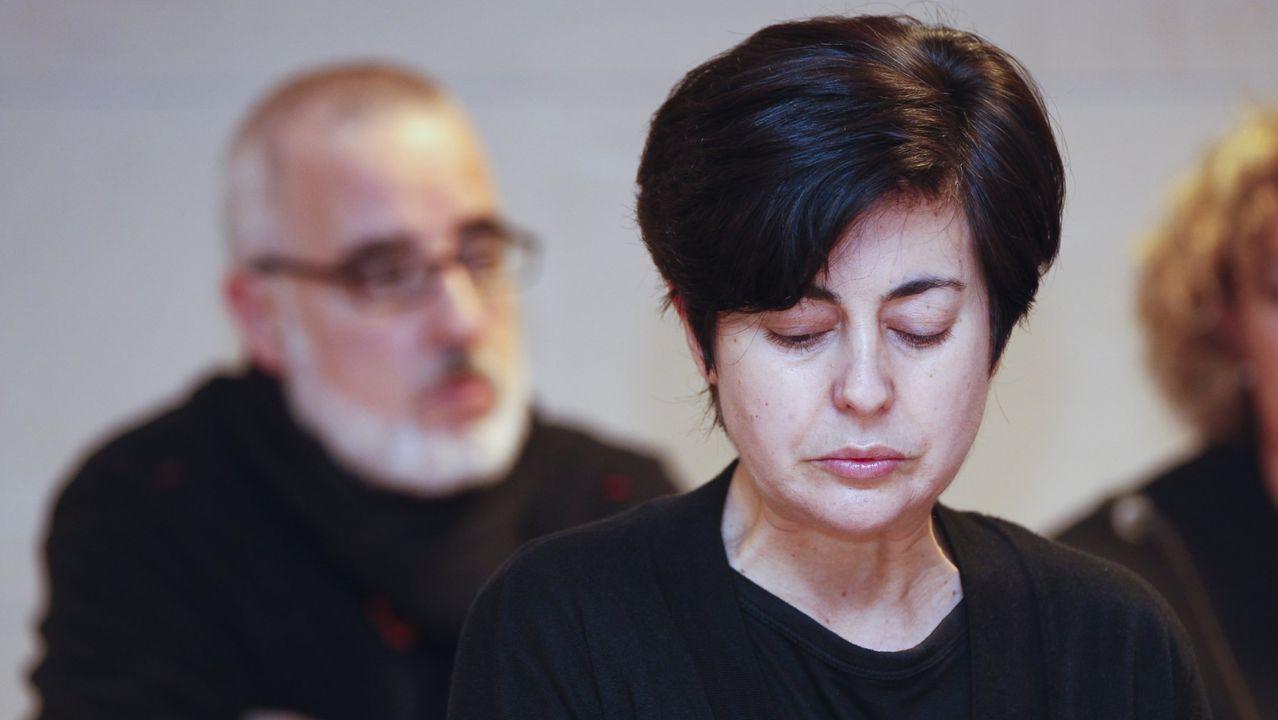 Rosario Porto y Alfonso Basterra, en el juicio por la muerte de Asunta