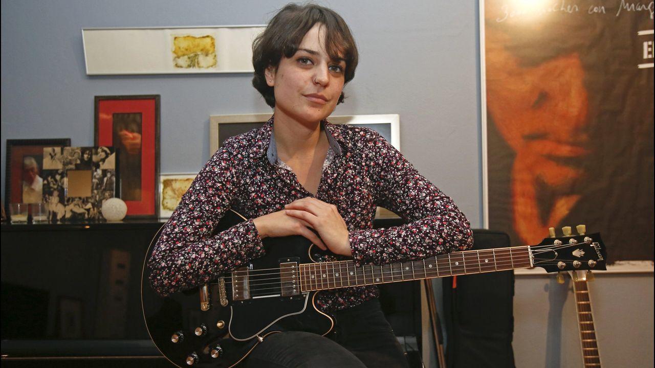 Cora Velasco actúa en la Casa do Saber