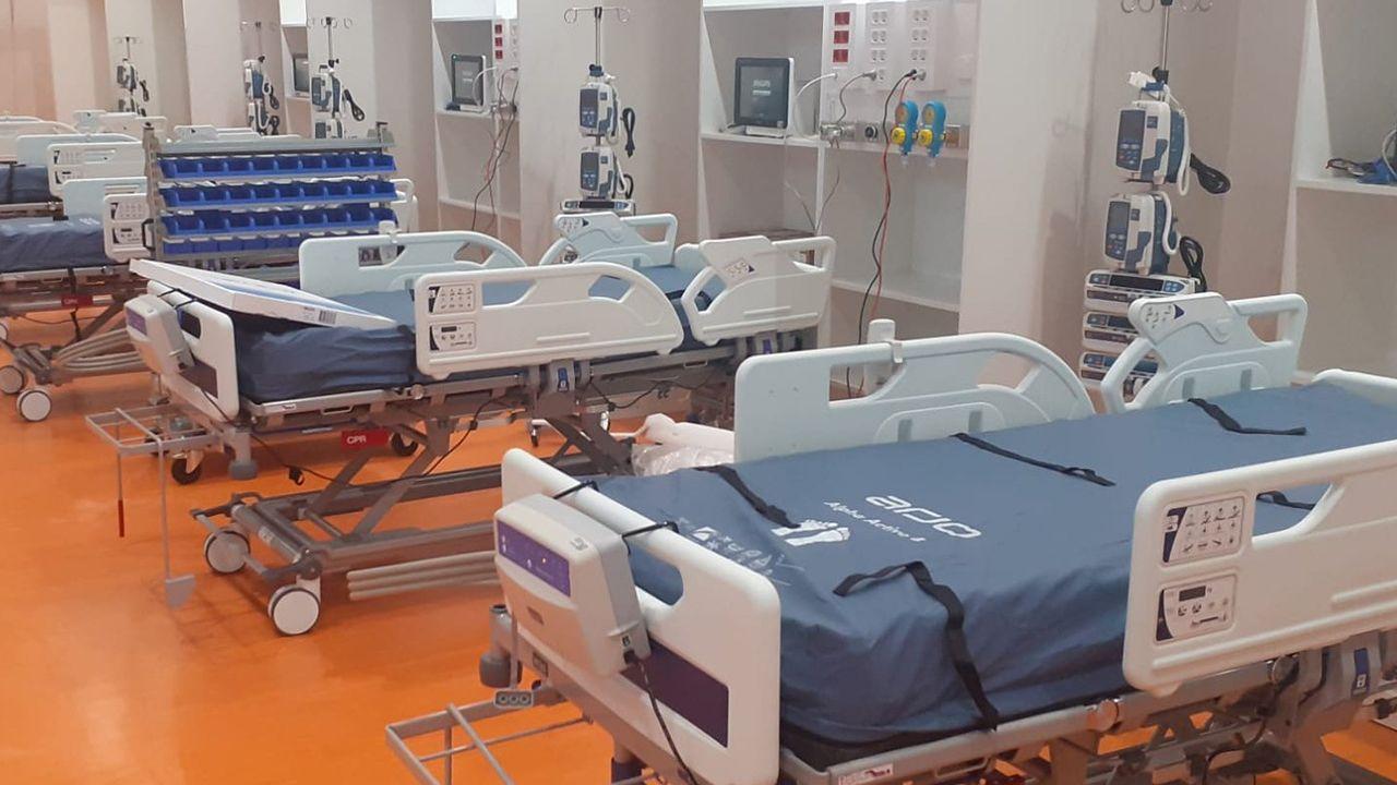 Instaladas diecinueve camas nuevas en el HUCA