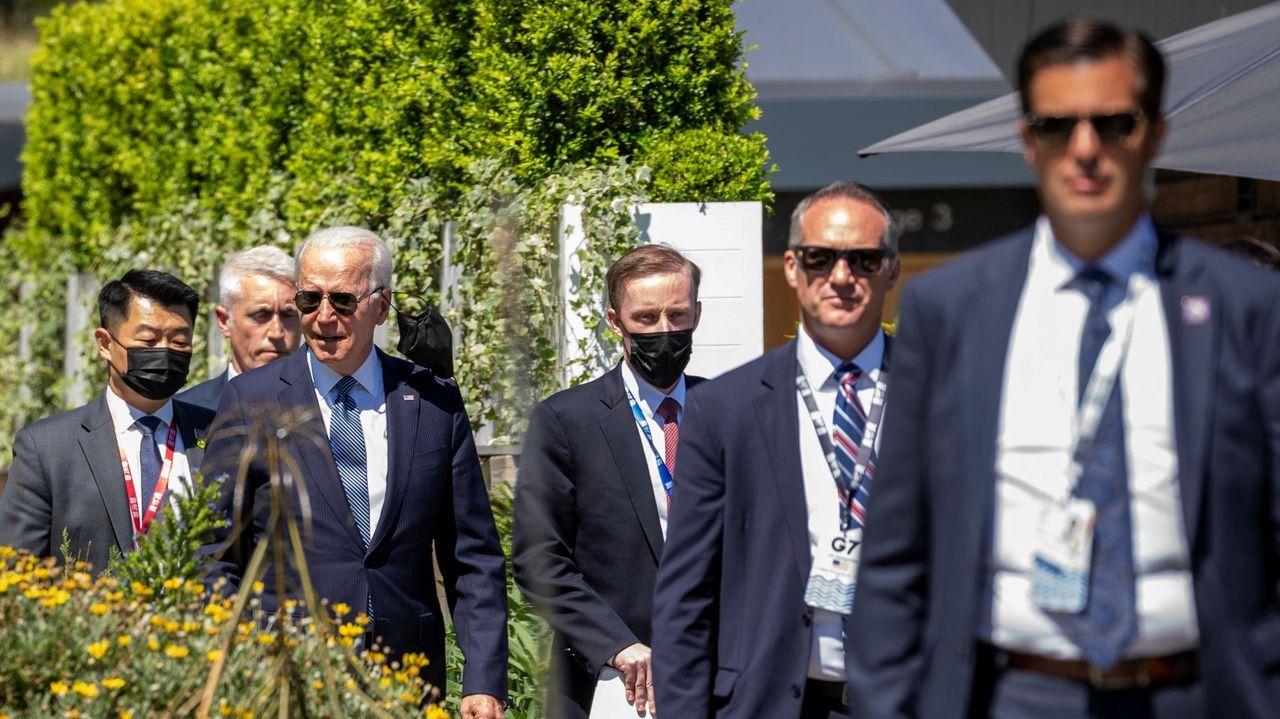 El esperado apretón de manos entre Biden y Putin se produjo en Villa La Grange, en Ginebra.
