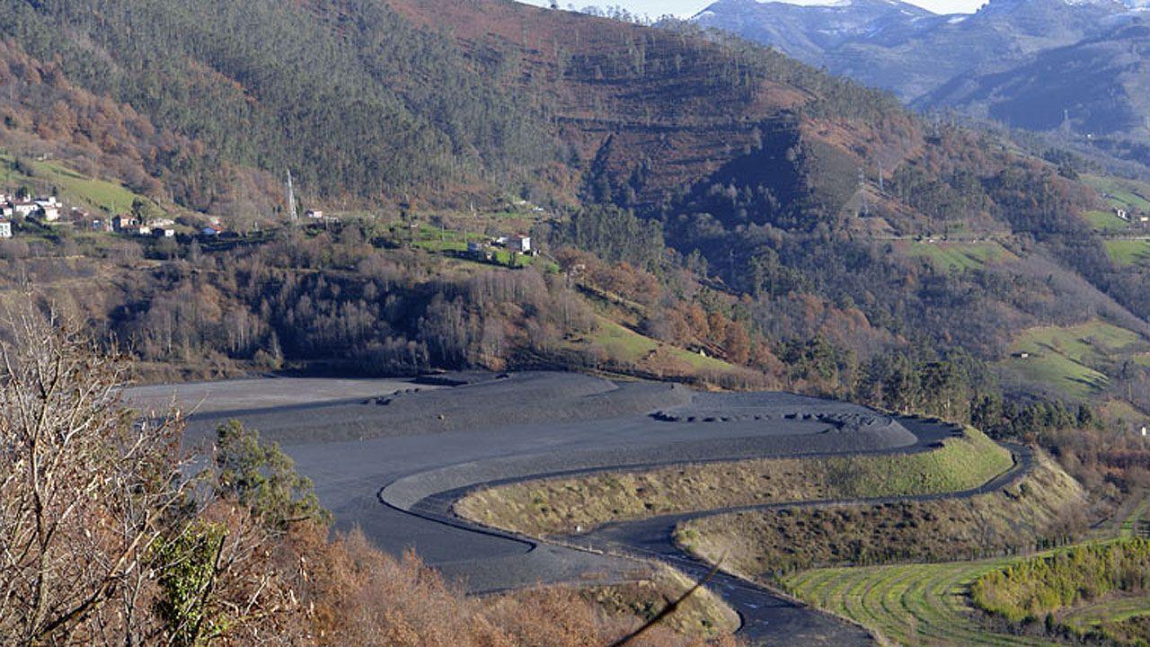 Museo de la Minería.Escombrera de Pumardongo (Mieres)