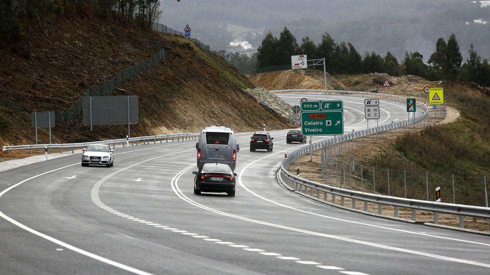 Inauguración del tramo del corredor Area-Beltrán. Xove