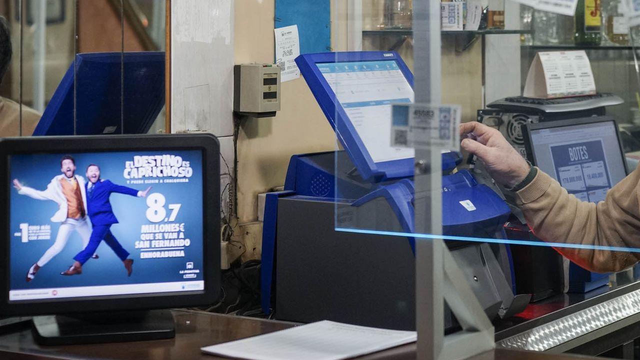 Administración de Lotería de Joaquín Costa donde ya tocaron otros premios como esta foto del 2013