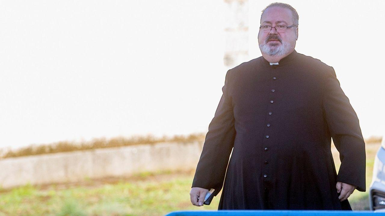 Ramón Tejero ofició la misa de reinhumación en Mingorrubio