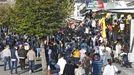 El ferial del San Froilán sigue ocupando calles como Rodríguez Mourelo, cerca del parque
