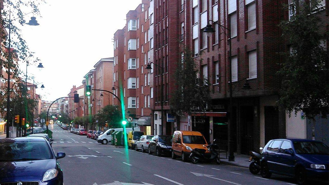 Carretera del Obispo, en Contrueces (Gijón)