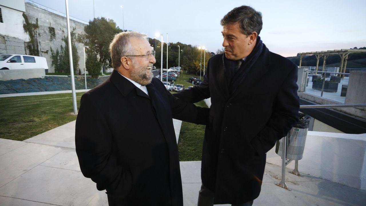 Orozco y Besteiro, en Lugo, en una imagen de archivo