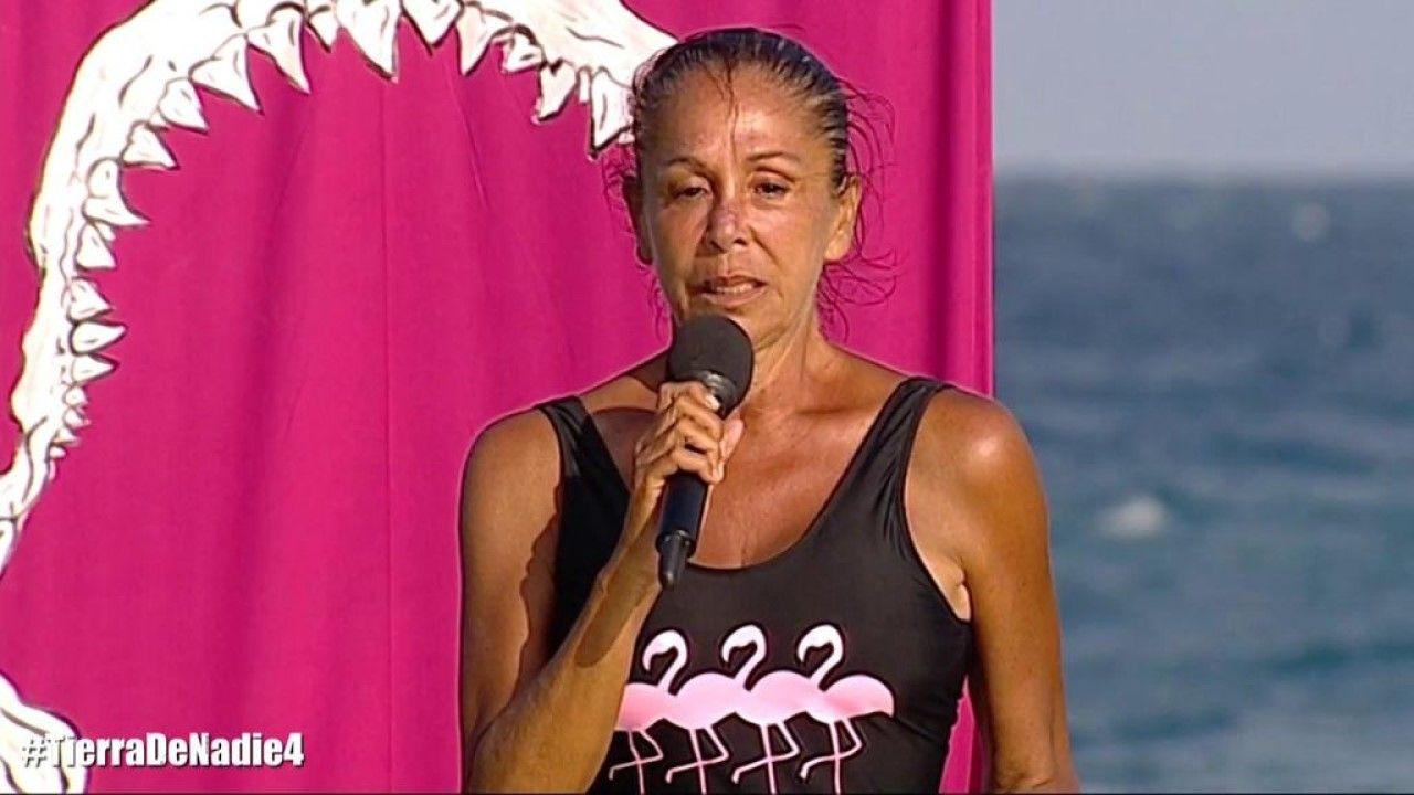 Lara Álvarez en «Supervivientes»