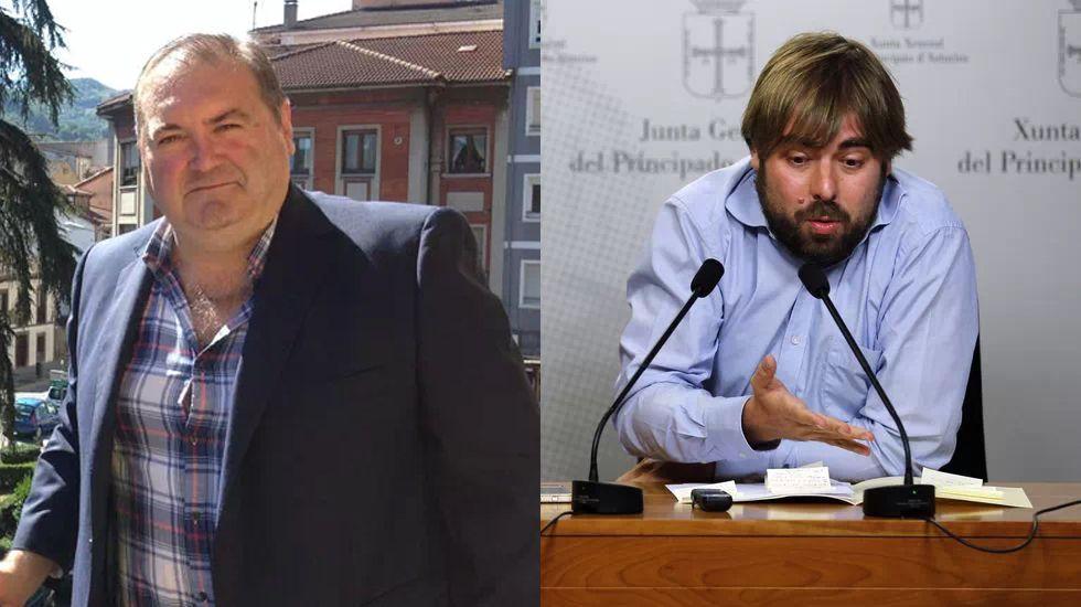 Ramón Argüelles y Daniel Ripa